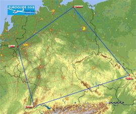 Euroglide 2018 route